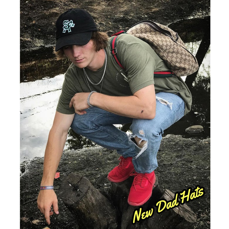 Image of Soul Flow Flat Bill Snap Back Graffiti Hat