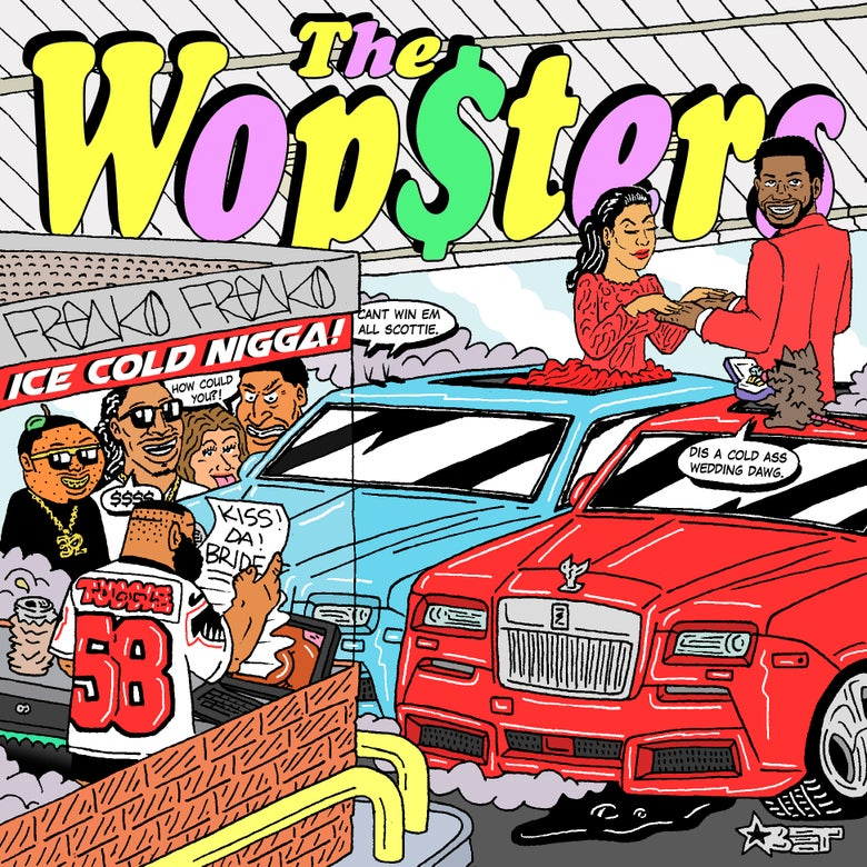 """Image of """"THE WOPSTERS"""" PRINT"""