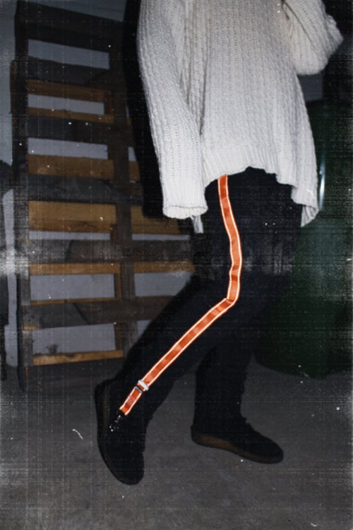 Image of 3M NIGHTCRAWLER SLIM PANTS (LAVA/BLACK)
