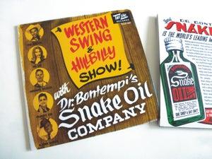 Image of CD Dr Bontempi's Snake Oil Co : Western Swing & Hillbilly Show.  (Re-edition).