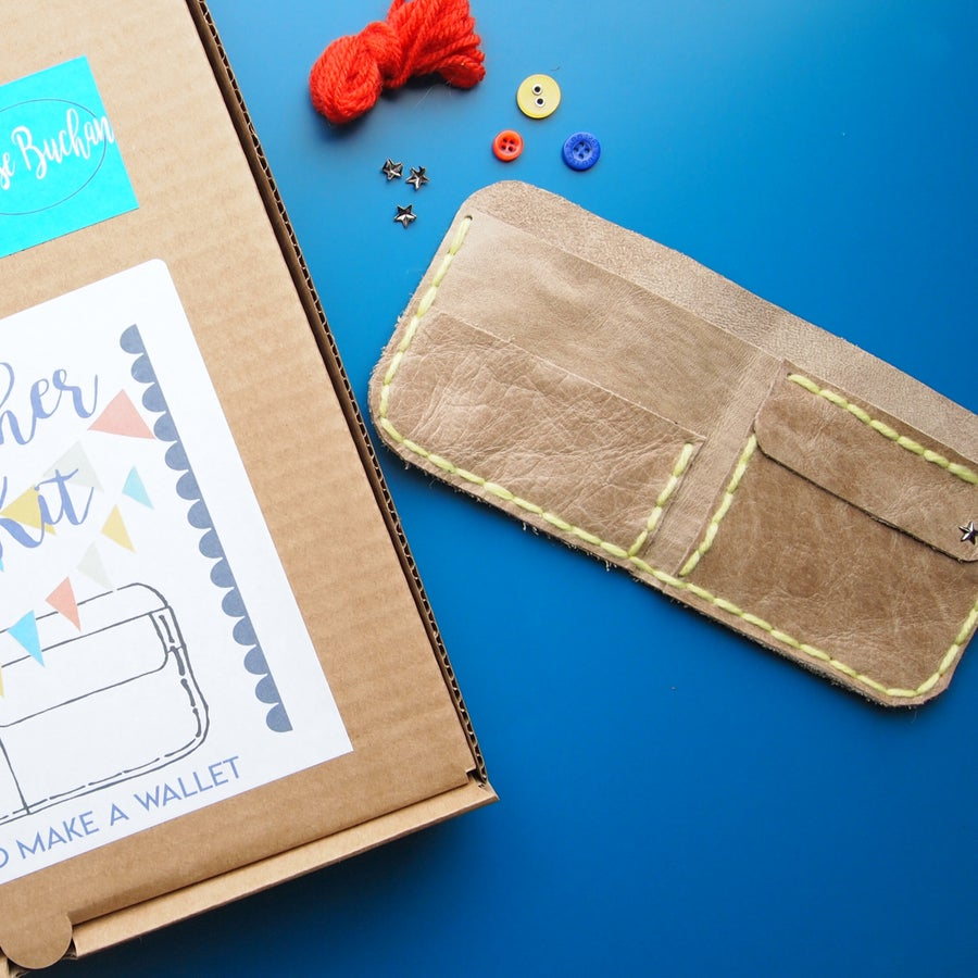 Image of Sew A Wallet Kit