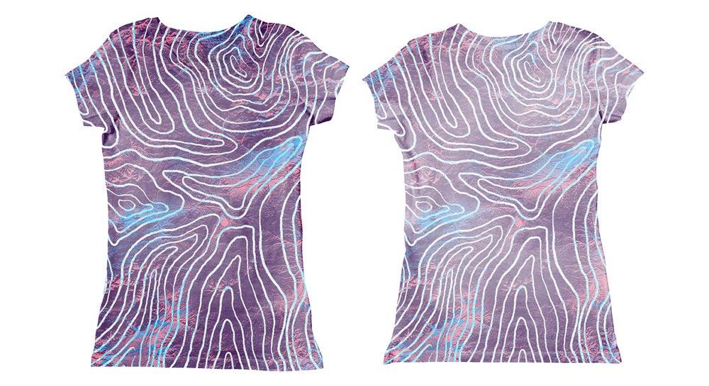 Image of Topograph (tee-shirt fille, body bébé)