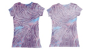 Image of Topograph (tee-shirt fille, body bébé)