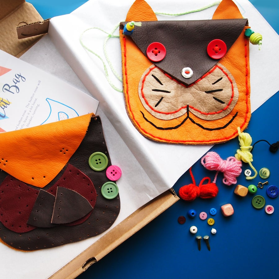 Image of Sew a Cat Bag Kit