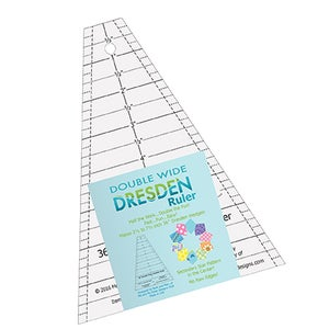 Image of Double Wide Dresden Ruler