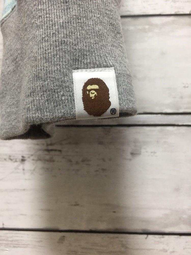 Image of Bape Vintage Plaid Full-Zip Hoodie