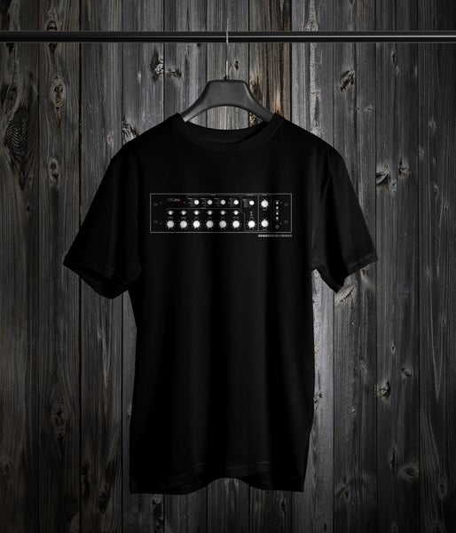 Image of Seasons 'Analog Mixer' Design Tee (Black)
