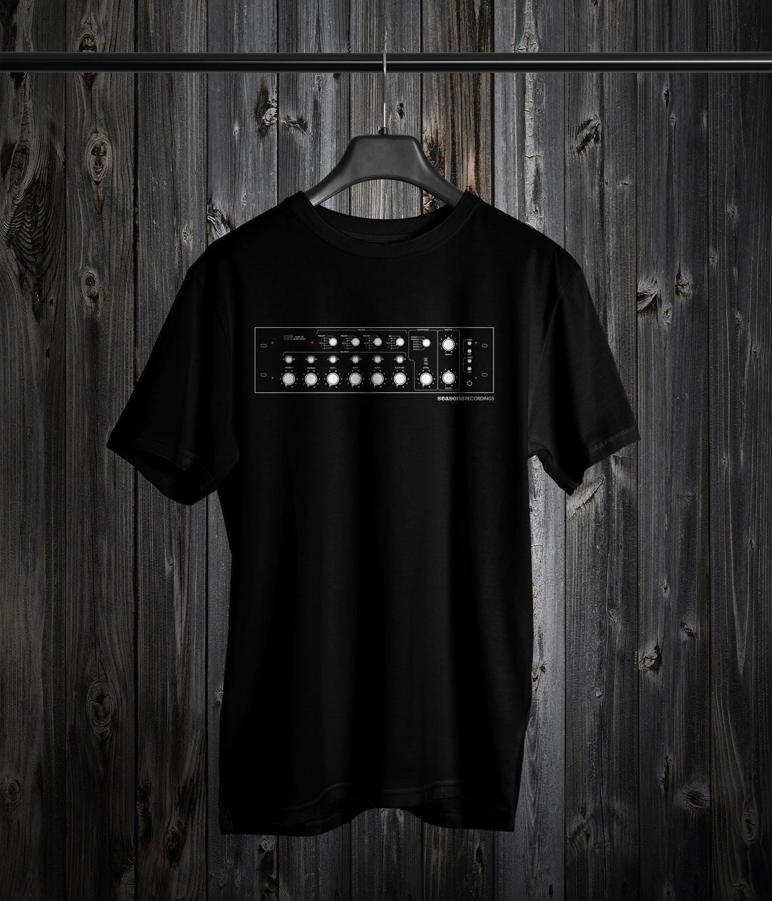 Image of Seasons 'Analog Mixer' Design Tee (Black)