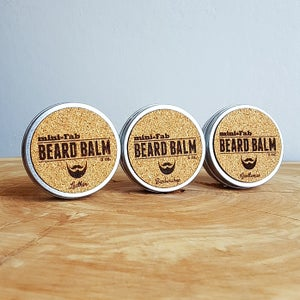 Image of Beard Balm - Manly Fragrance - Barbershop Scent - All Natural Organic Handmade in Small Batches