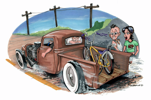Image of New Wheels - Ford Custom pickup