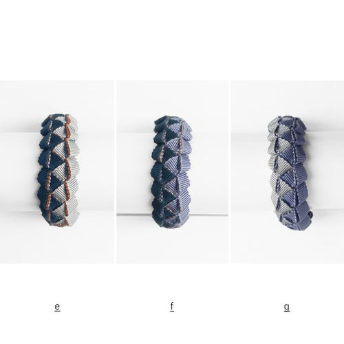 Image of simple braided bracelet #1621, Limited Edition