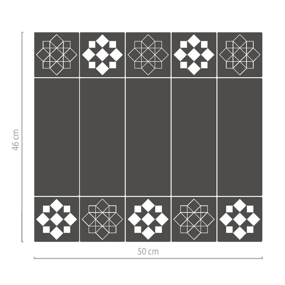 Image of Glasdekorfolie mit Motiv, Sichtschutz für Fenster