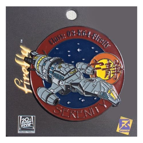 Image of Firefly Serenity Ship Pin