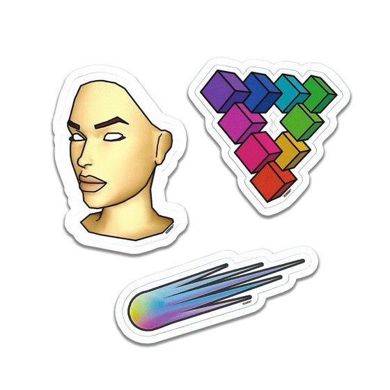 Image of Limited Edition Blank Banshee Stickers