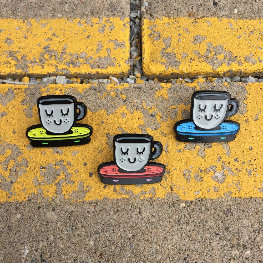 Image of Coffee Mug Skate Baby Pin Daddies
