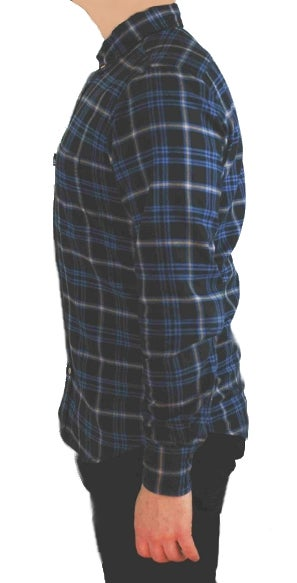 Image of Hobsbawm fitted shirt - Slade blue check