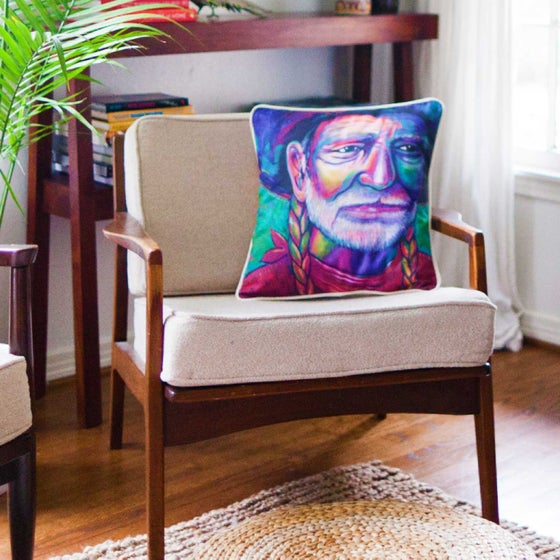 "Image of ""Willie"" Pillow"