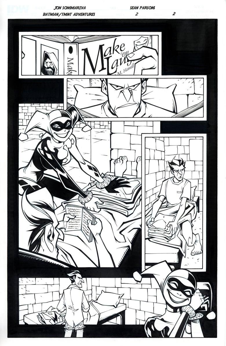 Image of Batman TMNT Adventures 2 Page 2