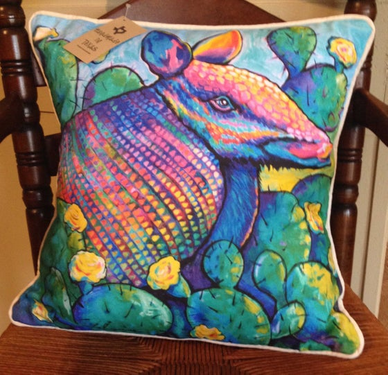 "Image of ""Armadillo"" Pillow"