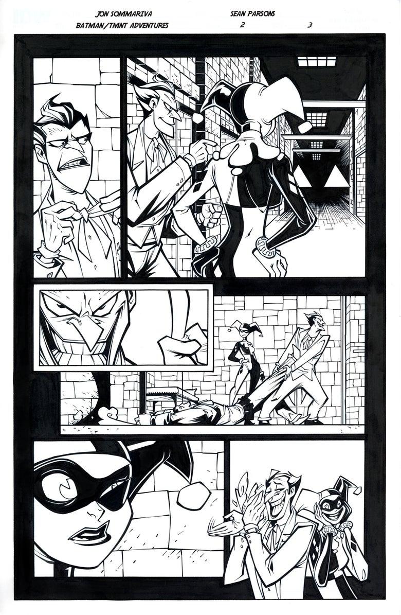 Image of Batman TMNT Adventures 2 Page 3