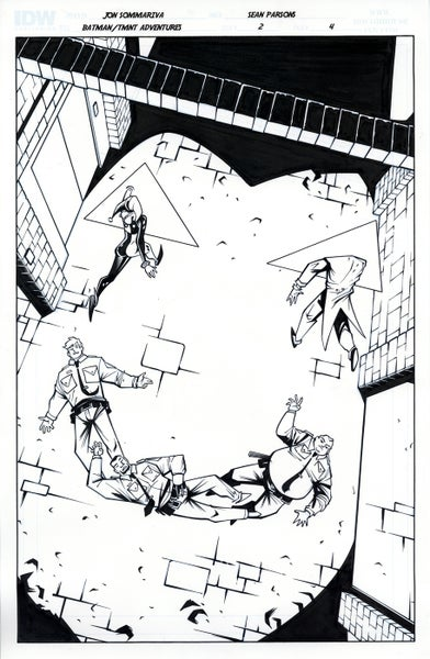Image of Batman TMNT Adventures 2 Page 4