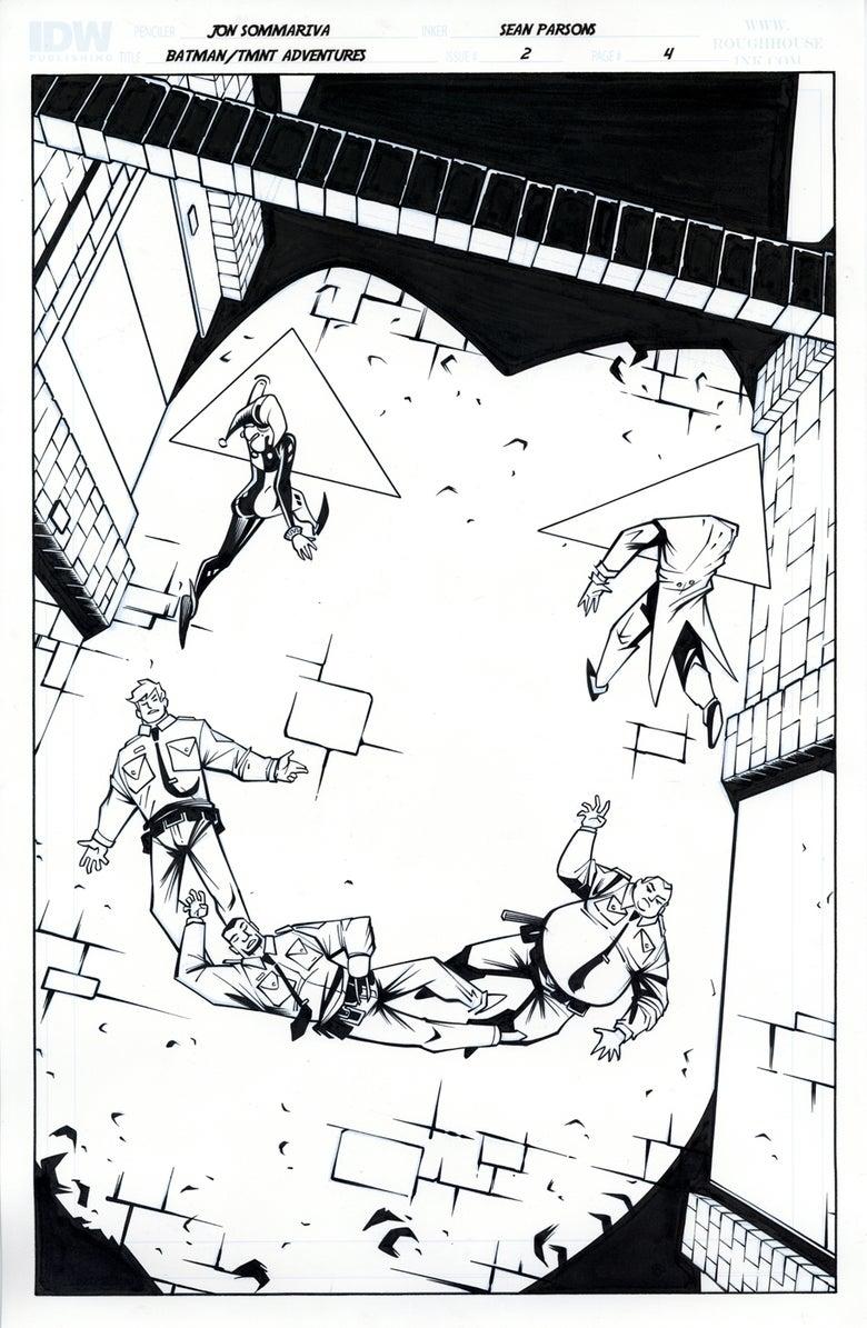 Image of Batman TMNT Adventures 2 Page 4