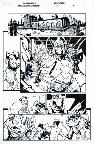 Image of Batman TMNT Adventures 2 Page 5