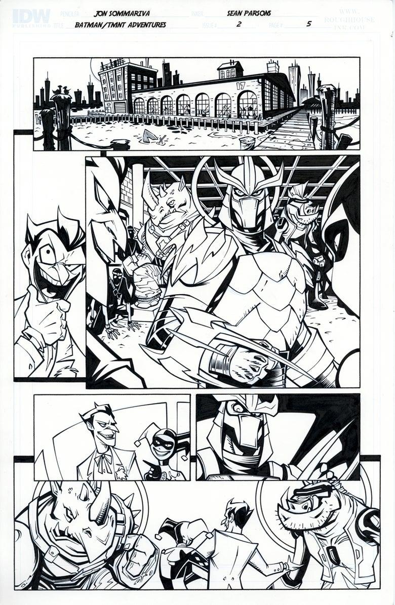 Image of Batman TMNT Adventures 2 Page 5