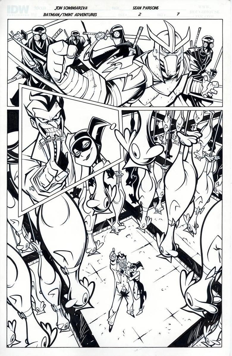 Image of Batman TMNT Adventures 2 Page 7