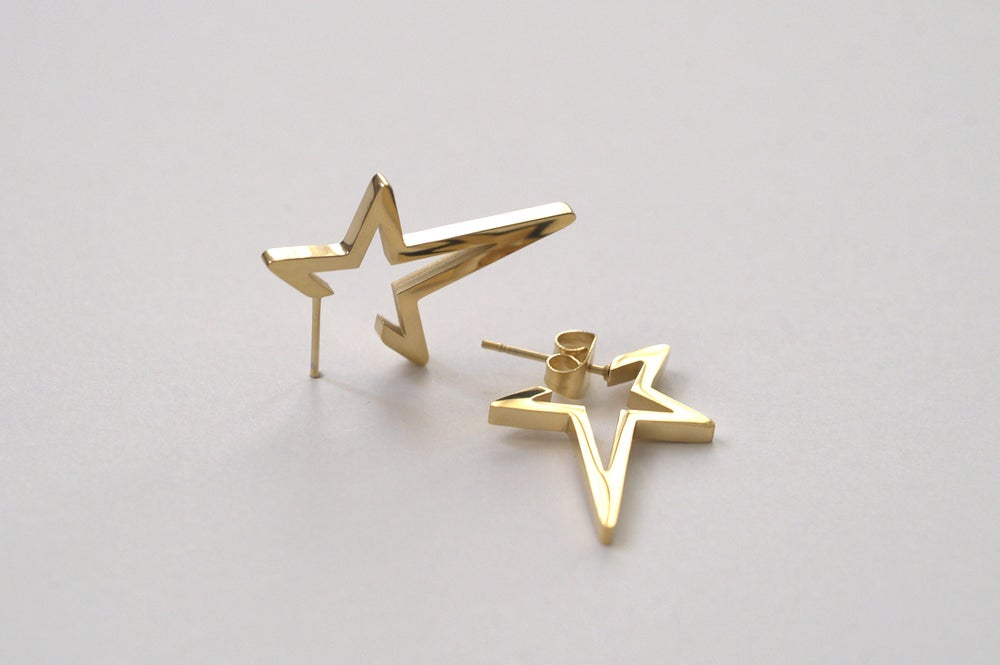 Image of Semi-Star Earrings