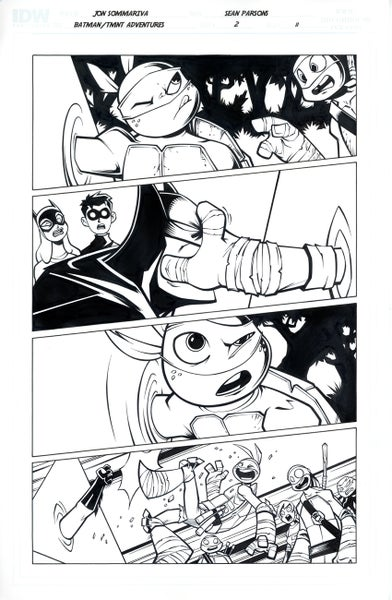 Image of Batman TMNT Adventures 2 Page 11