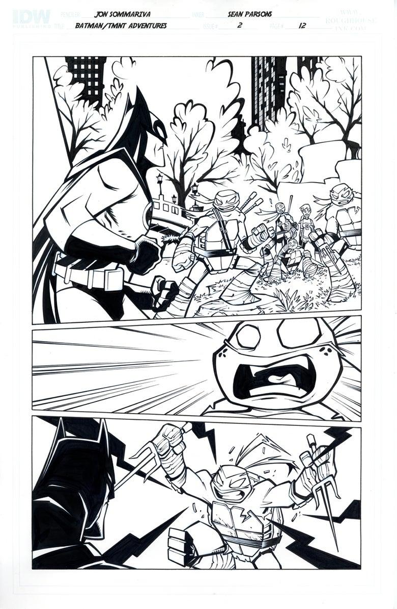 Image of Batman TMNT Adventures 2 Page 12