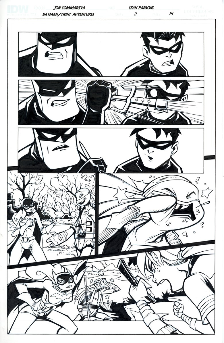 Image of Batman TMNT Adventures 2 Page 14