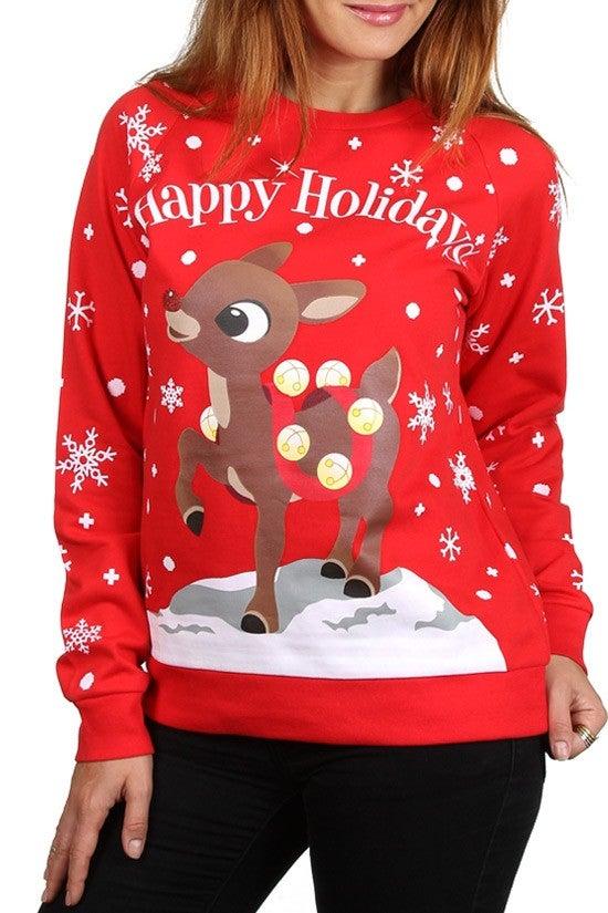 Image of Rudolph Holiday Sweatshirt