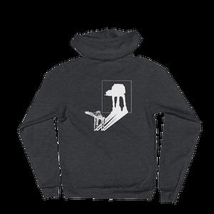 Image of AT-AT Shadow - unisex zip hoodie