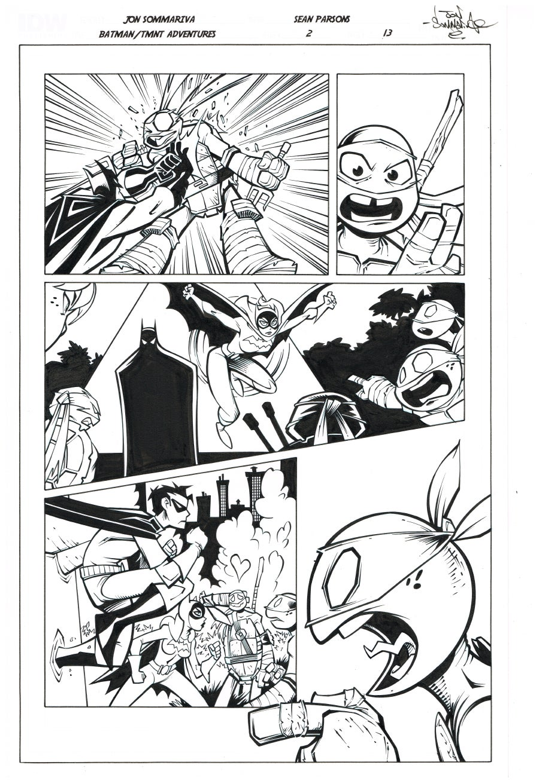 Image of Batman TMNT Adventures 2 Page 13