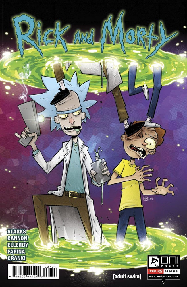 Image of Rick and Morty #27 (Justin Peterson Variant)