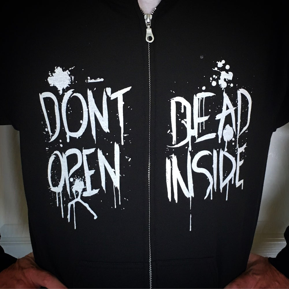 "Image of ""Don't Open Dead Inside"" Hoodie"