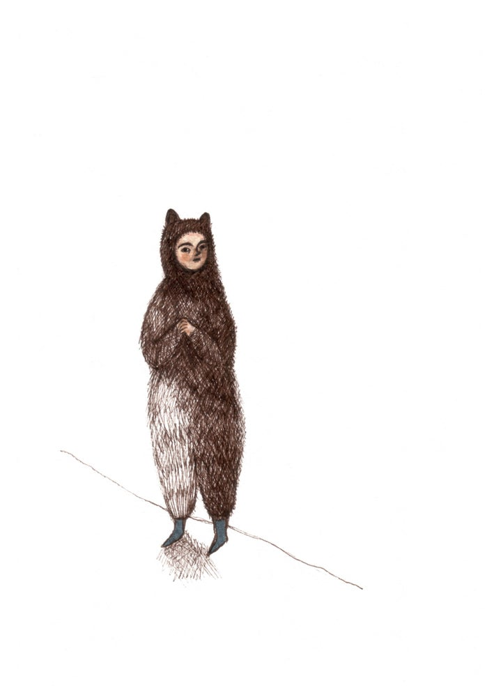 Image of Bear - Giclee print - made to order