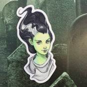 Image of The Bride of Frankenstein Sticker