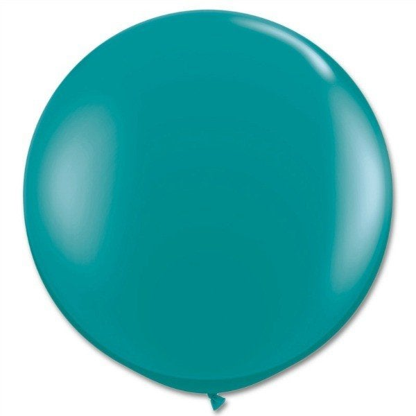 Image of Giant Round Balloons - Jewel Teal