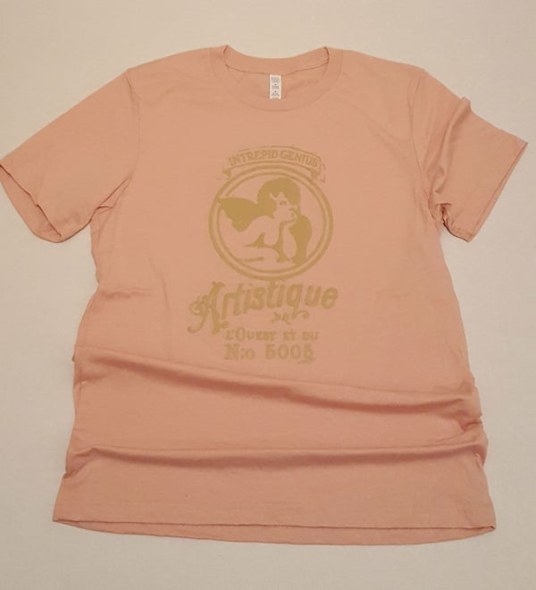 Image of Artistique tee Dusty Coral