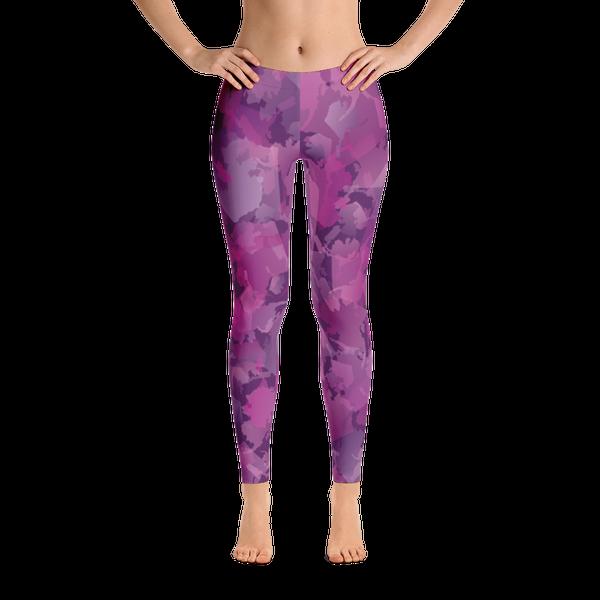 Image of Alaska Pattern Leggings - Blueberry
