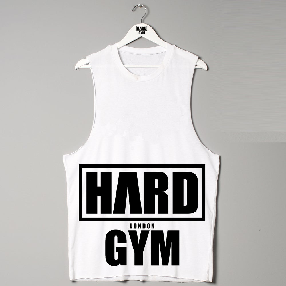 Image of Hard Clothing London Premium Vest Raw Edge Urban Designer Fitness Fashion