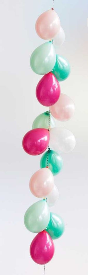 Image of Festive - Bouquet and Mini Balloon Garland