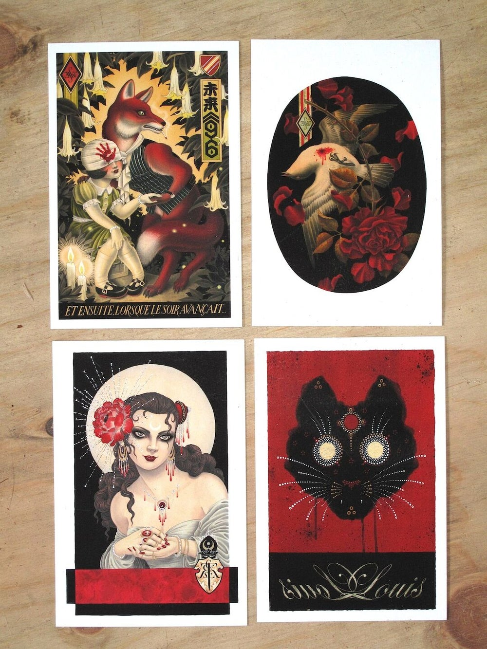 Image of MINI PRINTS (SET OF FOUR)