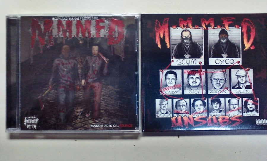 Image of M.M.M.F.D - 2 pack CD special: Unsubs & Random Acts of Violence