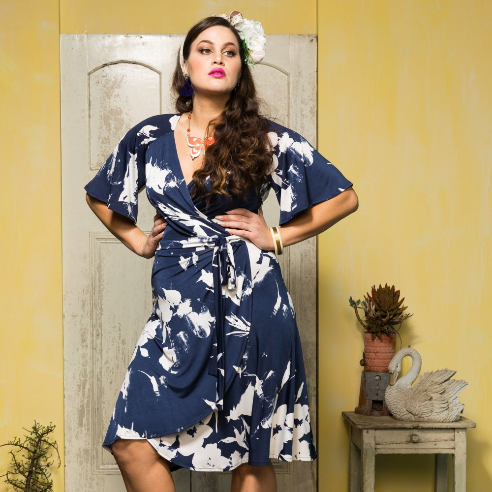 Image of ROSITA WRAP DRESS