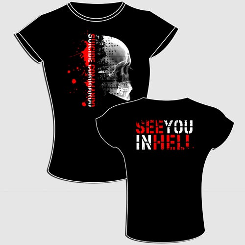 Image of see you in hell t-shirt