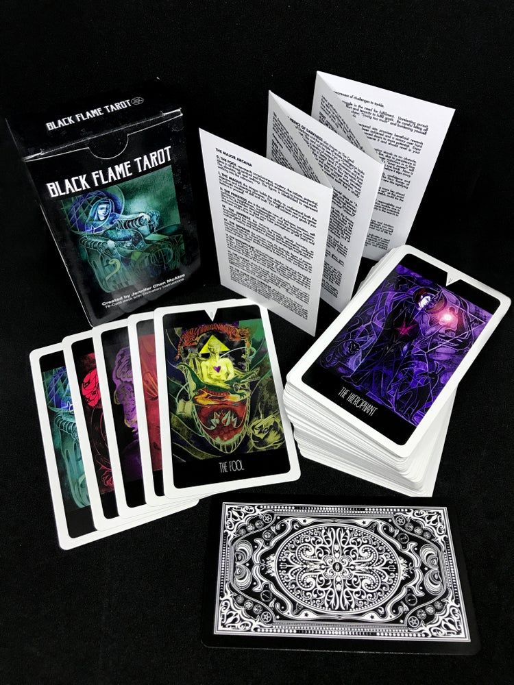 Image of Black Flame Tarot Deck